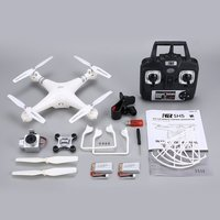 SH5H 2.4g FPV Drone with 1080P/720P Wide Angle HD Wifi Camera Live Video Headless Mode Gravity Sense Return Key RC Quadcopter