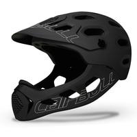 Mountain Adult Men Cycling Helmet Full Covered MTB Down Hill Full Face Women Bicycle Helmet Bike Helmet Extreme Sports Skating