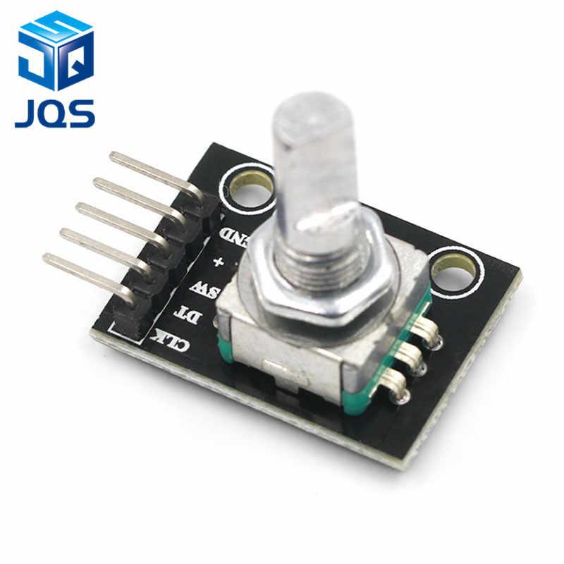 Módulo Codificador rotativo de 360 grados para placa de desarrollo de Interruptor de Sensor de ladrillo Arduino KY-040 con pines