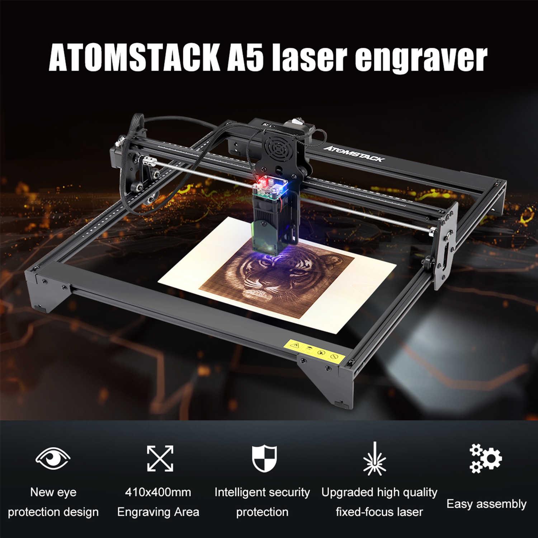 5500mW ATOMSTACK 20W Laser Graviermaschine Laserengraver Engraving Fräsmaschine