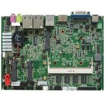 2019 ใหม่มินิคอมพิวเตอร์แล็ปท็อปเมนบอร์ด Intel Atom N2800 Mini PC อุตสาหกรรม Mainboard