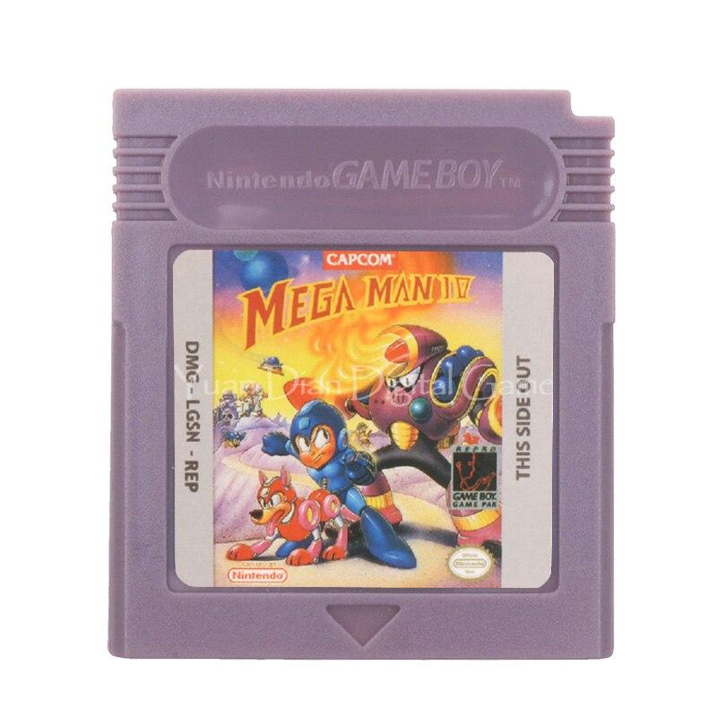 For Nintendo GBC Video Game Cartridge Console Card Mega Man 4 English Language Version 1