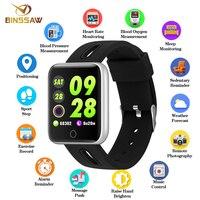 BINSSAW Sport5 Smart Watch Men Blood Pressure Smartwatch Waterproof Fitness Tracker ClockFor IOS Android Wearable Devices