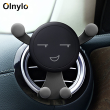 Holder For Phone In Car Mobile Gravity Air Vent Monut Smile