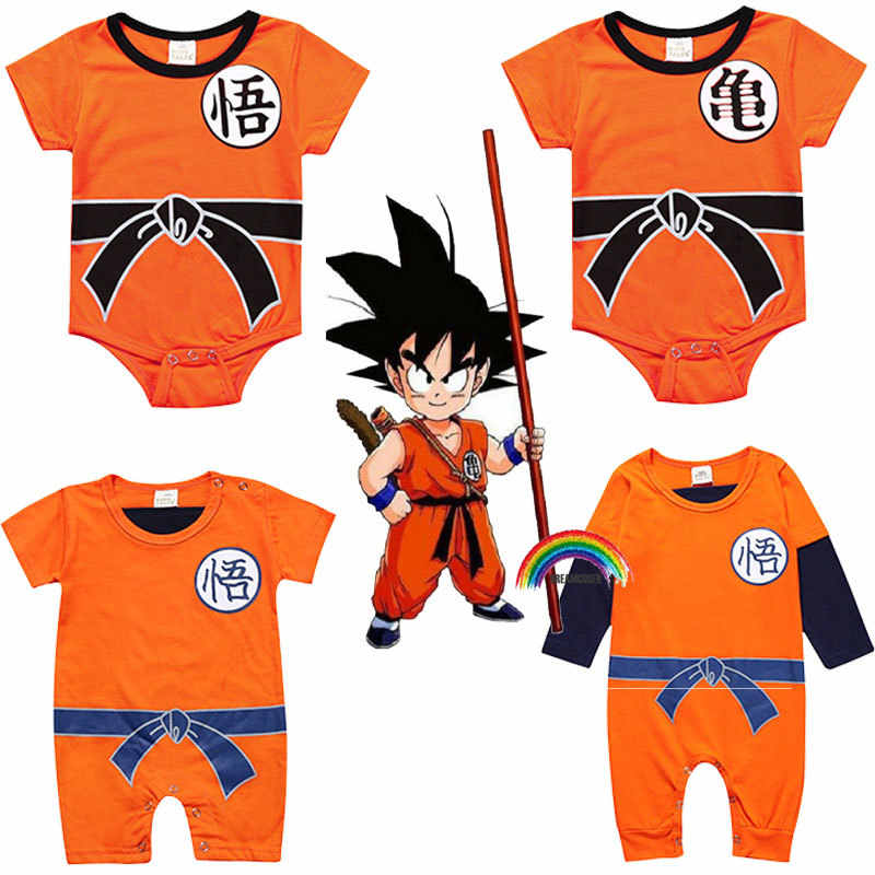 Gorgeous products Sun Wukong DBZ Japanese Manga Character Logo Boy /& Girl Short Sleeve Jumpsuit Set Black