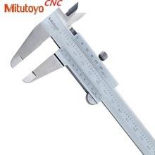 1 adet Mitutoyo CNC kaliperleri Vernier kaliper 0 150 0 200 0 300 0.02 hassas mikrometre ölçüm paslanmaz çelik aletler