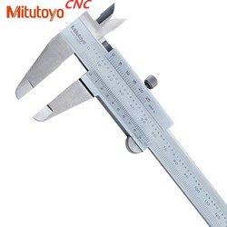 1 sztuk Mitutoyo CNC zaciski Vernier suwmiarka suwmiarka 0 150 0 200 0 300 0.02 precyzja pomiar mikrometryczny narzędzia ze stali nierdzewnej Suwmiarki Narzędzia -