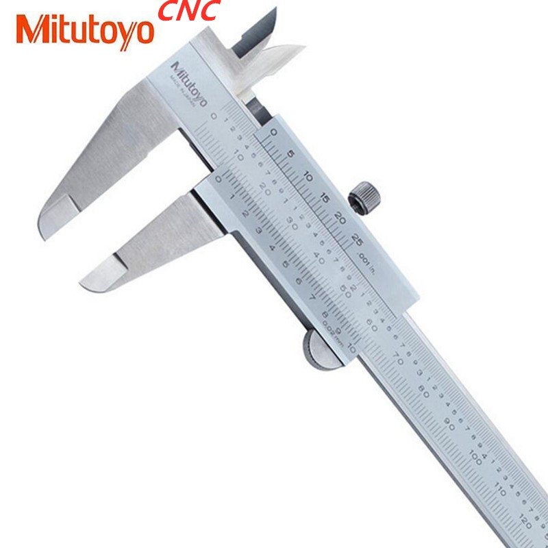 1pcs Mitutoyo CNC Calipers Vernier Caliper 0-150 0-200 0-300 0 02 Precision Micrometer Measuring Stainless Steel Tools