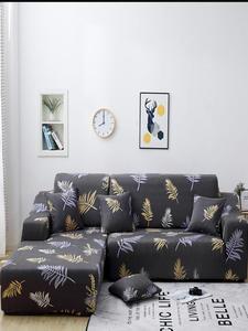 Sofa Slipcover Chaise Stretch Corner Spandex Elastic Living-Room L-Shape Longue
