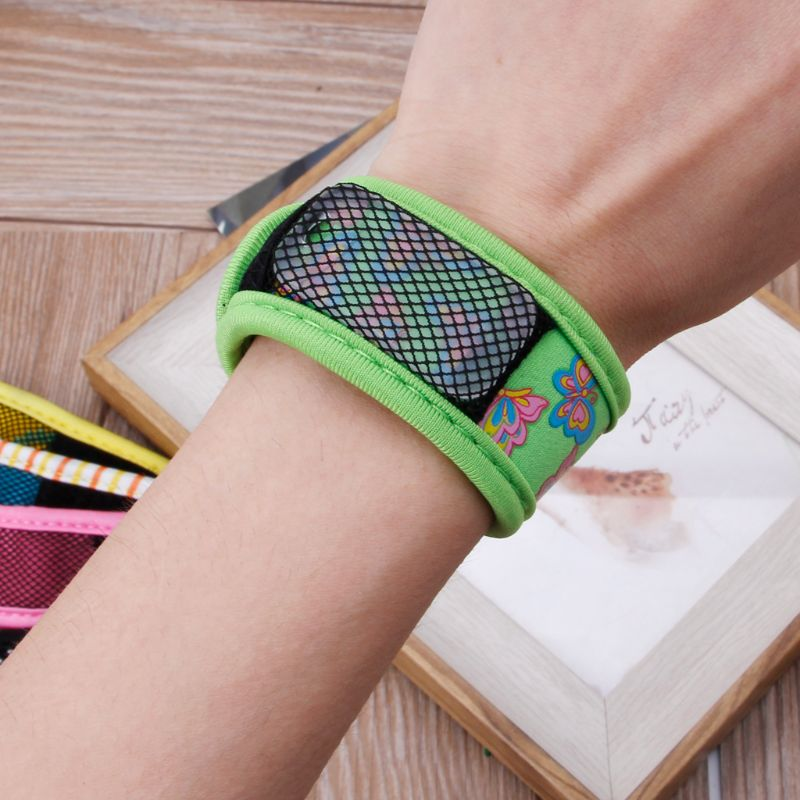 Mosquito Repellent Wrist Band Bracelet Insect Nets Bug Camping Safer Anti Mosquito Bracelet Outdoor Mosquito Killer