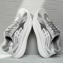 New Design 2019 Fashion Running Shoes Casual Trend Comfortable Sports Breathable Mesh Mens Non-slip wear Zapatillas