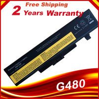 Bateria Do Portátil para Lenovo g480 g400 Y480 Y485 HSW Y580 Z580 G500 Z485 Z480 G485 G410 Z380 L11S6Y01|Baterias p/ laptop|   -