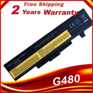 HSW Laptop battery for Lenovo g480 g400 Y480 Y485 Y580 Z580 G500 Z485 Z480 G485 G410 Z380 L11S6Y01(China)