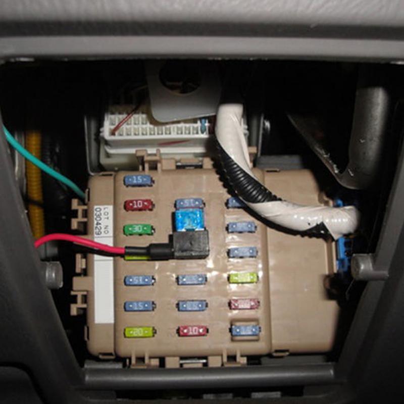 5 шт. automotri автомобильный предохранитель 12 в держатель страховой ATM адаптер APM Tap мини-лезвие Micro Add-a-Circuit адаптер предохранитель набор аксессуаров