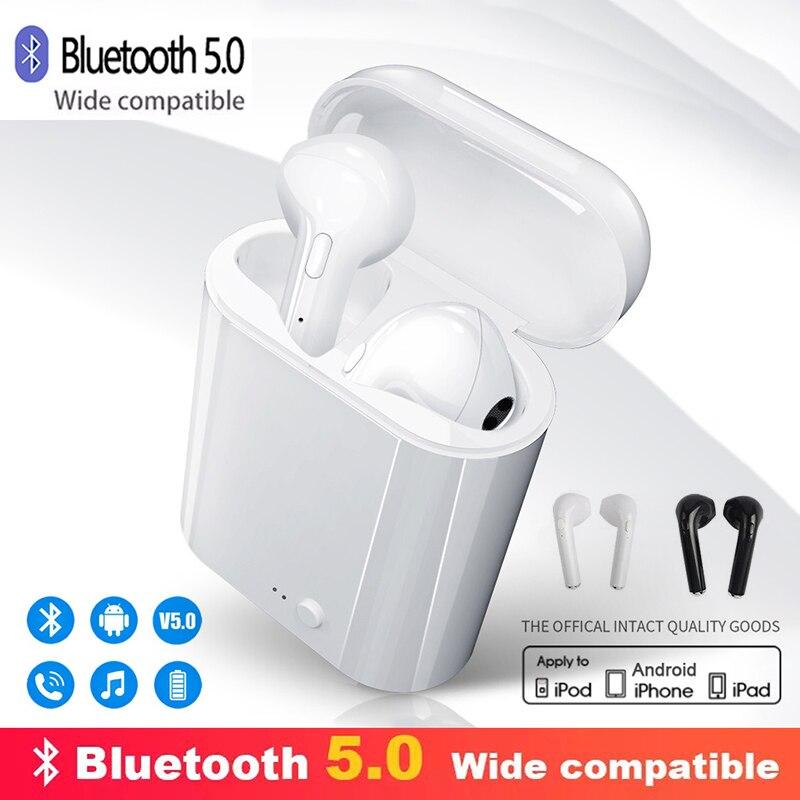 TWS i7s, Bluetooth наушники, беспроводные наушники, воздушные наушники, Спортивная гарнитура, гарнитура с зарядной коробкой для Apple iPhone, Android|Наушники и гарнитуры|   | АлиЭкспресс - Лучшие блютус-наушники с Али