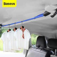 Baseus forte cinta elástica ajustável tensão cinto varal do carro gancho carga bagagem amarração fivela corda para motocicleta viagem