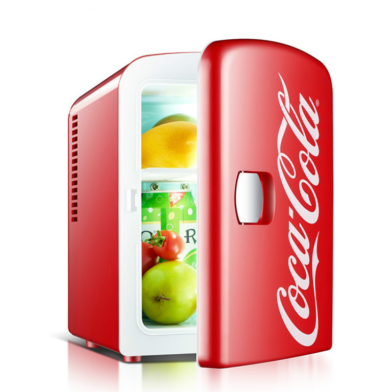 4L Small Capacity Mini Portable Car Refrigerator Low Noise Energy Saving Dormitory Student Refrigeration Box
