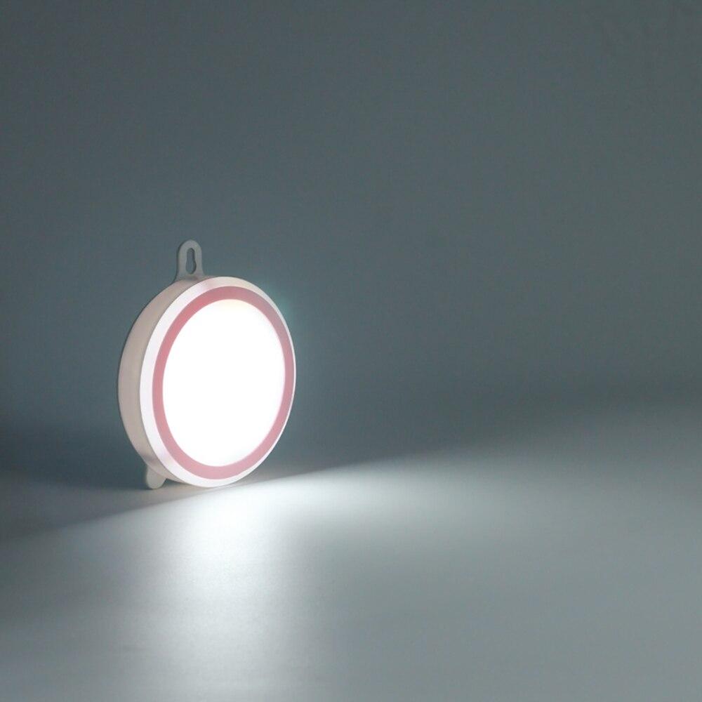 SNEWVIE USB Rechargeable Night Light Adhesive Led Indoor Decor Corridor Lamp ABS Bedroom Motion Sensor Portable