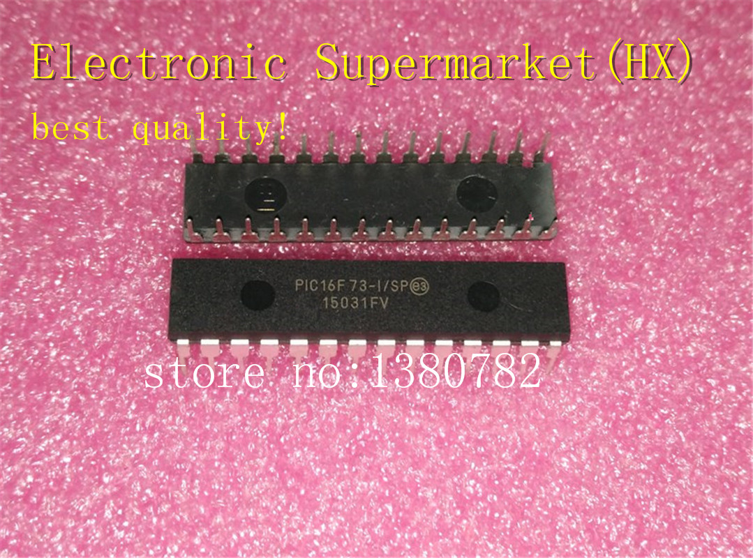 Free Shipping 50pcs/lots PIC16F73 I/SP PIC16F73 16F73 I/SP DIP 28  New original  IC In stock!-in Integrated Circuits from Electronic Components & Supplies