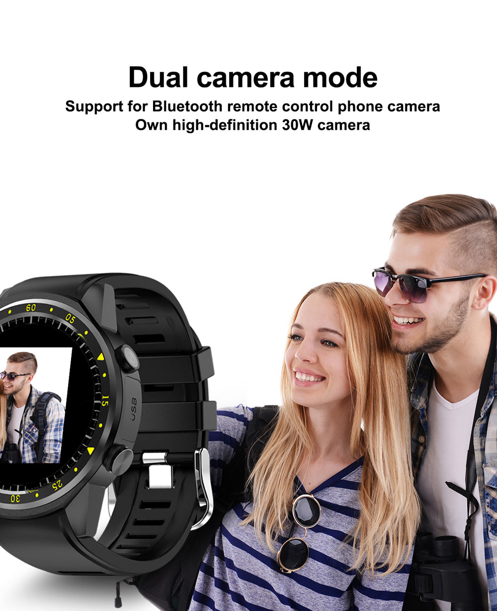 Hb6c44ef52d0f4c2f9dca9fac1682b688B - GPS Smart Watch Men With SIM Card Camera F1 Smartwatches Heart rate detection Sport phone connected watch android iOS Clock