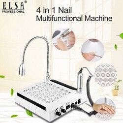 4 In-1 Nail Boor & Nail Dust Collector Manicure Met Twee Krachtige Ventilator Stofzuiger Voor Manicure Tool alles Voor Manicure