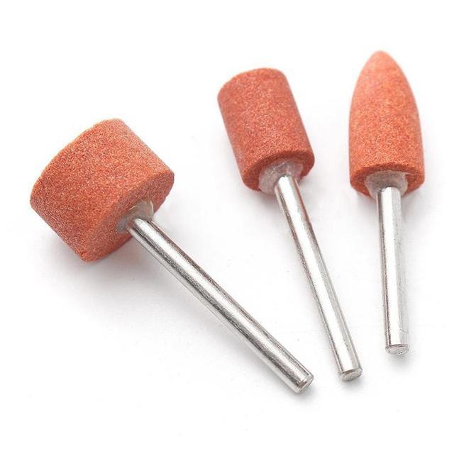 """40 pièces ensemble doutils rotatifs pour 1/8 """"tige ponçage polonais coupe accessoire jeu de bits outil abrasif outil rotatif accessoires"""