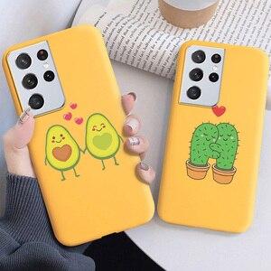 Image 5 - Cartoon Bear Soft Case For Samsung S21 Ultra Case For Samsung S20 FE S21 Plus Note 20 10 Lite Note20 Ultra 8 9 Cases Cover Coque