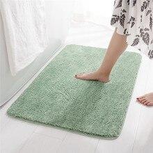 Bathroom Carpet Absorbent Doorway Microfiber Non-Slip Rectangular Indoor-Rug Soft-Feet