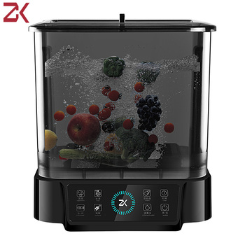 Fruit And Vegetable Washing Machine Home Cleaning Machine Vegetable Fruit Disinfection Machine Automatic Ultrasonic Sterilizer
