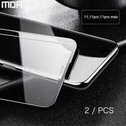 Voor iPhone 11 Pro Max Glas Voor iPhone 11 Gehard Glas Voor iPhone 11 Pro Screen Protector Front Guard Veiligheid beschermende 2Pcs