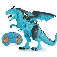 Dinosaur Toy Gifts Remote Control Dinosaur Toy with Walking Simulated Roar Spray R9UE roar roar