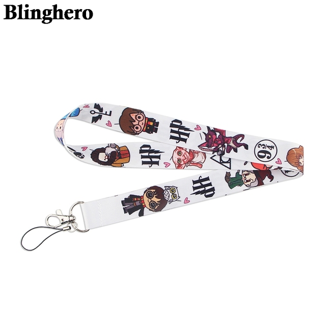 CA1508 Wholesale 20pcs/lot Magic School Hot Keychain Straps Rope Cell Phone Neck Strap Lanyard for ID Card Key Chain DIY Lanyard 4