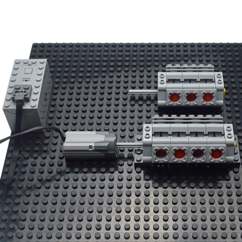 Technical parts Motor multi power functions 8293 8883 tool servo train motor PF model sets building blocks Compatible All Brands