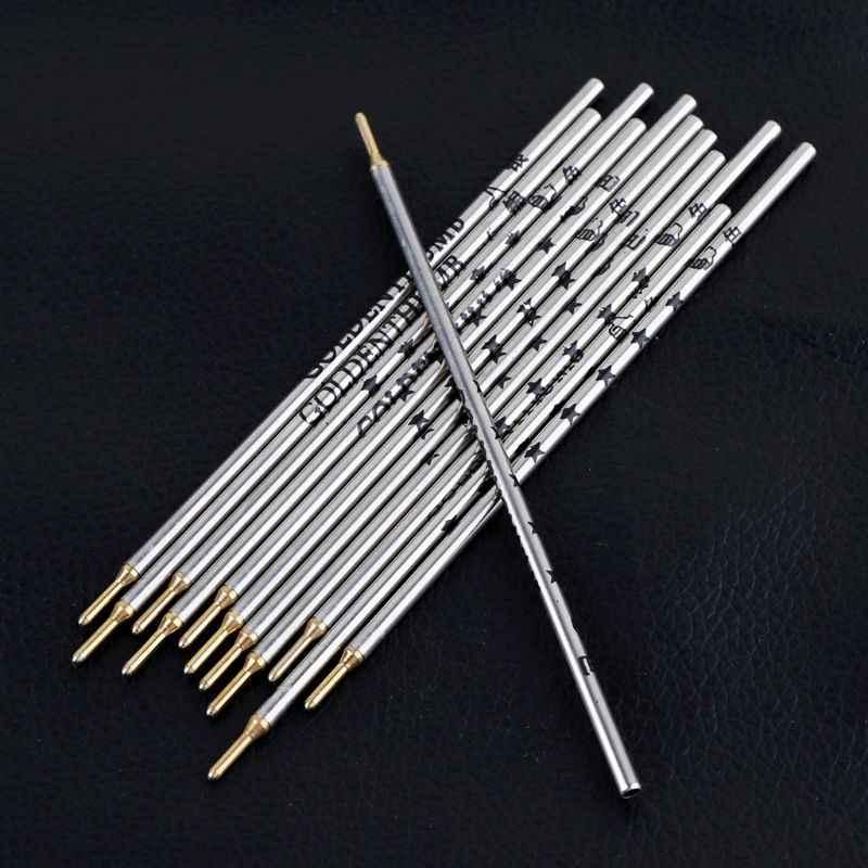 Ngón tay cái Bạc Ống Sắt Đổ Lại Quần Áo Vải Da Cắt Định Vị Dấu Ấn Đặc Biệt Dòng Bút Bạc Cần 12 cái/hộp