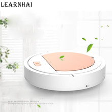 LEARNHAI 2019 New Arrival Robot Vacuum Cleaner Powerful Suction For Thin Carpet  Hard Floor Automatic Home Cleaning Machine цена и фото