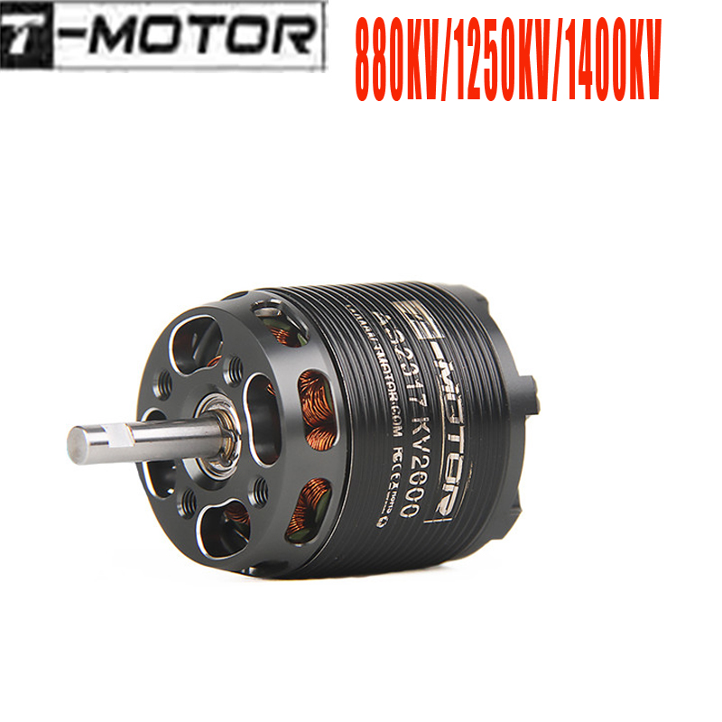 T-<font><b>MOTOR</b></font> AS2317 2317 Long Shaft KV880 880KV/KV1400 1400KV/KV1250 <font><b>1250KV</b></font> <font><b>Brushless</b></font> <font><b>Motor</b></font> for Fixed Wing RC Airplane Aircraft Parts image