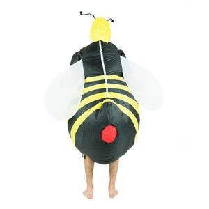 Image 3 - Inflatable Bumble Bee Costumes Women Men for Adults Party Carnival Cosplay Dress Blowup Outfits Halloween Purim Suits