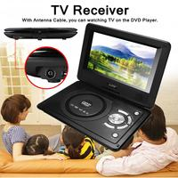 8.8inch Car DVD Player Portable USB2.0 SD Adjust Viewing Angle Game Remote Control 270 Rotation Screen Support TV/Game Function