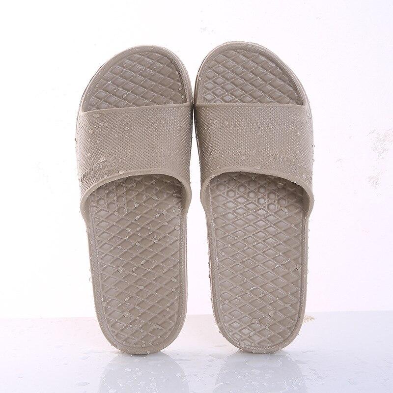 Unisex Home Slippers Summer Indoor Floor Non-slip Slippers Couple Family Women and Men Hotel Bathroom Bath Sandal Slippers 5