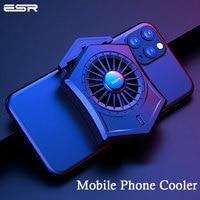 ESR Tragbare Telefon Kühler Telefon Lüfter für Telefon Samsung Xiaomi Unterstützung PUBG Smartphone Cooling Pad Gaming Spiel für iPhone