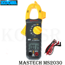MASTECH MS2030 AC Clamp Meters 400A multimeter with AC/DC Voltage Resistance Continuity Test& Data Hold