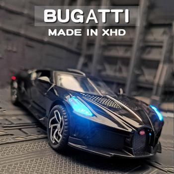 1 32 symulacja Bugatti czarny smok Model samochodu sportowego aluminiowy Model samochodu metalowa zabawka samochód chłopiec prezent samochód biżuteria dekoracyjna kolekcja tanie i dobre opinie CN (pochodzenie) 4-6y 7-12y 12 + y 18 + odlew Model Alloy Car Model Decoration Jewelry Collection