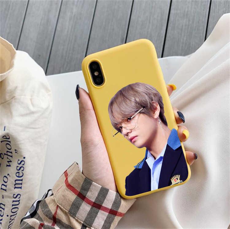 Kpop NO.1 горячей парень Ким тэ Хен одежда в Корейском стиле для мальчиков Love Yourself чехол для телефона для huawei p30 pro p30 lite p20 pro p10 mate 20 p10