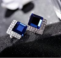 find jewerly ball micro encrusted ear clips Vintage female earrings Birthday gift CBA10