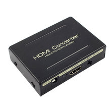 HDMI Audio Splitter to SPDIF R/L Signal Converter 2/5.1CH For Computer HDTV Amplifier Stereo