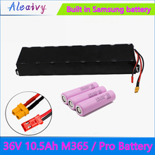 Aleaivy Cn(Original) Samsung 36V 10.5Ah Battery For Xiaomi M356 M356 Pro Special Battery Pack 36V Li-ion Battery 10500mAh