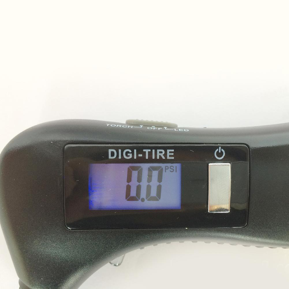 5-в-1 шин Давление датчика цифровой автомобильных шин Air Давление манометр метр барометры тестер