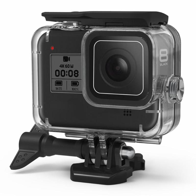 Funda Protectora Cubierta Carcasa Impermeable 40M para GoPro Hero 8 accesorios de la Cámara