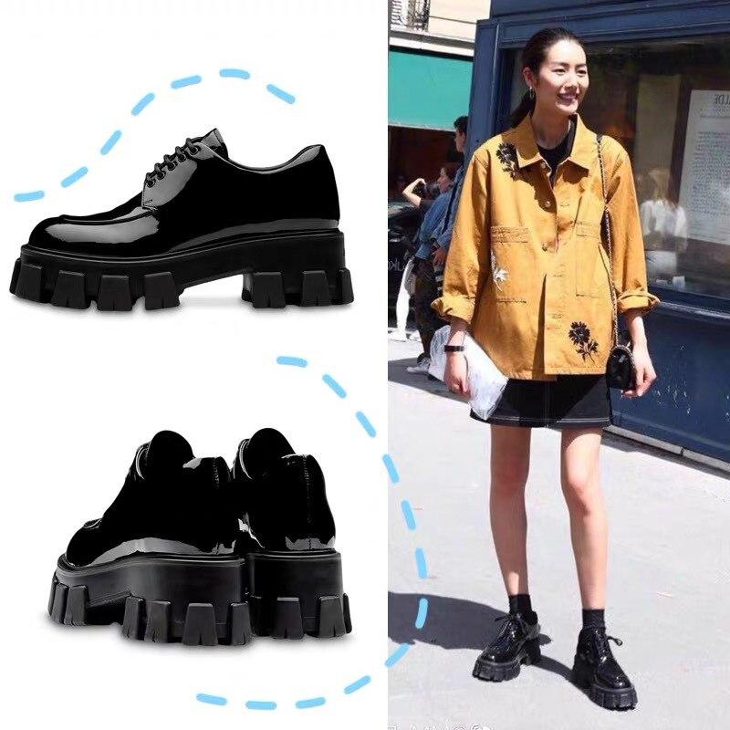 Women British Style Flat Shoes
