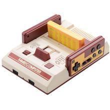 RS-37 레드 화이트 서버 D99 8 비트 Vedio 게임 콘솔 FC 레트로 클래식 패밀리 게임 콘솔 더블 플레이를위한 24-in-1 게임 카드